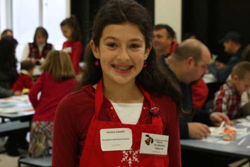 Santa's server - Jessica Lavoie