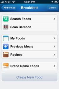 FoodSearchScreen