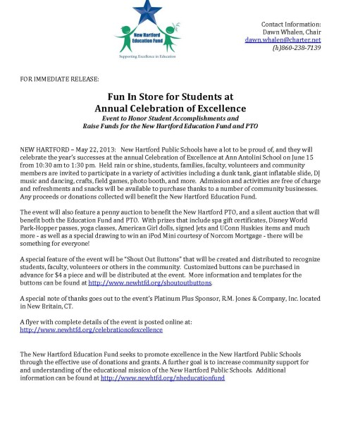 celebrationPress Release _2_