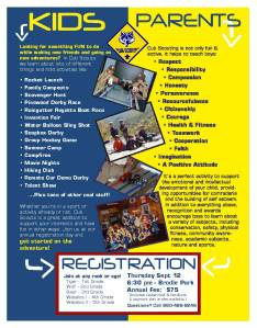 Pack 19 Sign Up Poster 2013